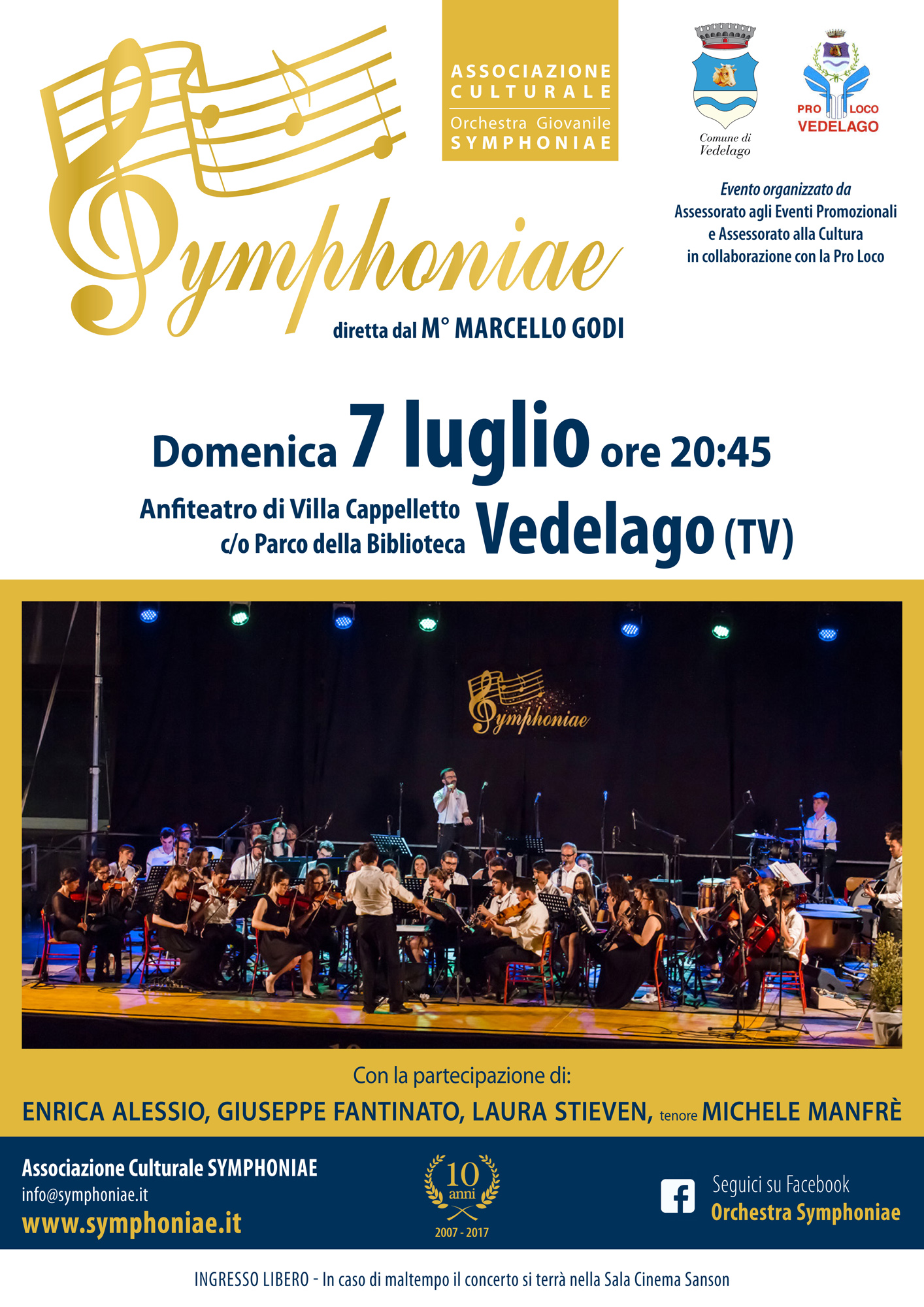 Calendario Luglio 2007.Archivio Calendario Eventi Orchestra Symphoniae